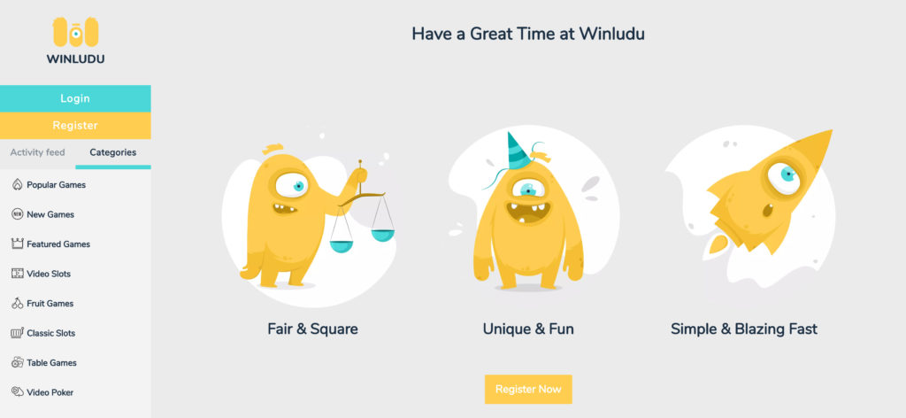 Winludu.com Onine Casino Review