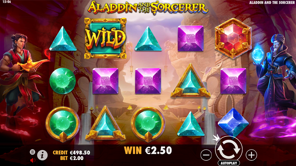 Video Slot Review - Aladdin and the Sorcerer