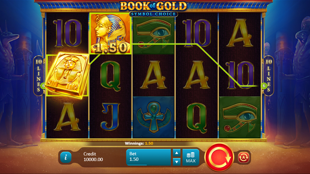 Video Slot Review Book of Gold