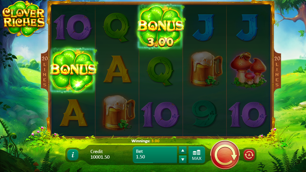 pwacasinos slot casino game review clover riches