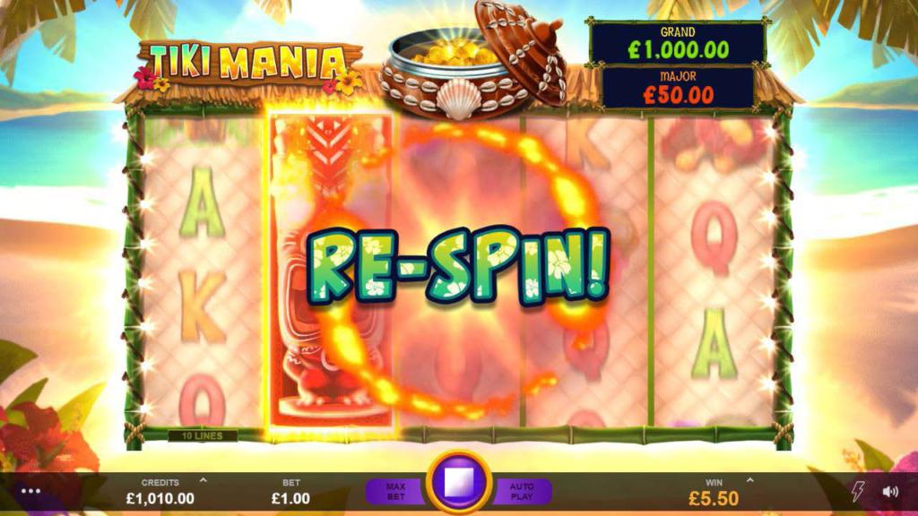 Slot Game Review - Tiki Mania