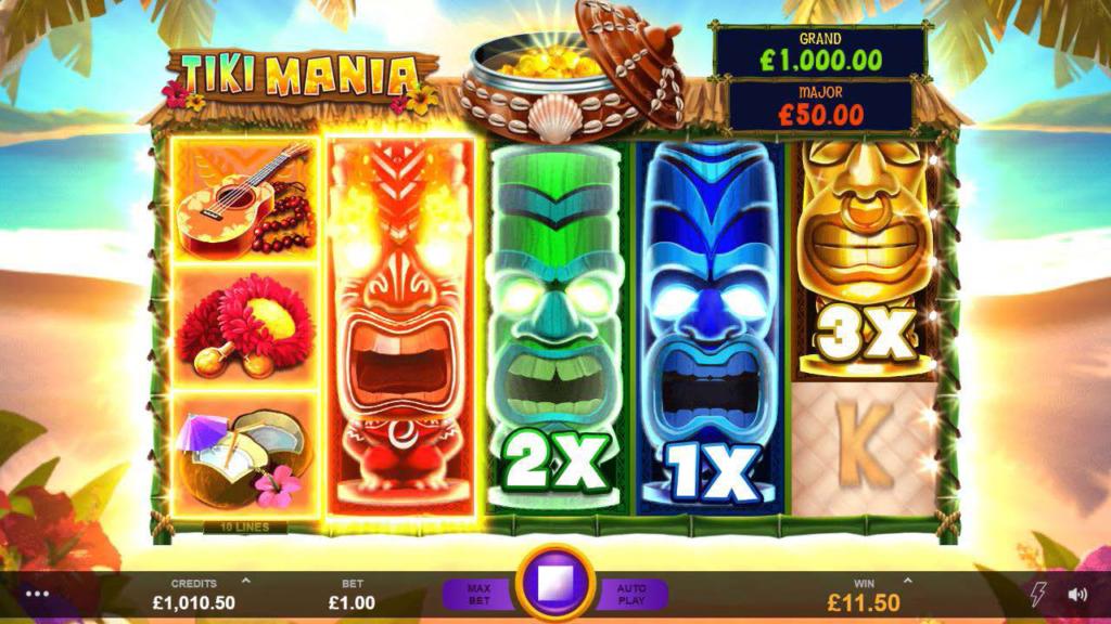 Slot Casino Game - Tiki Mania