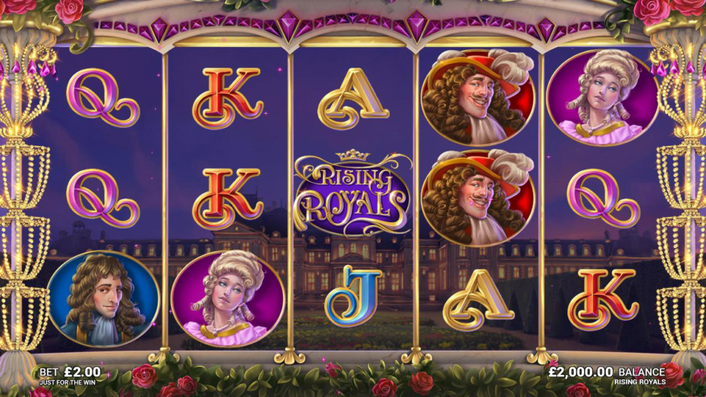 Rising Royals- slot casino game review