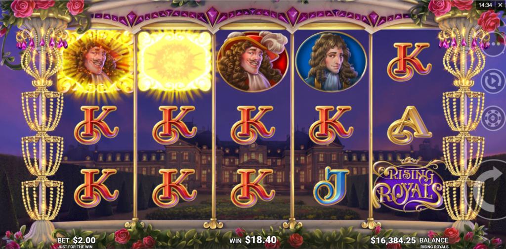 Slot Game Review - rising royals