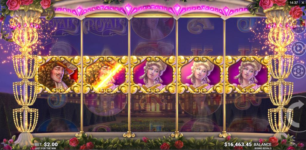 rising royals - slot review