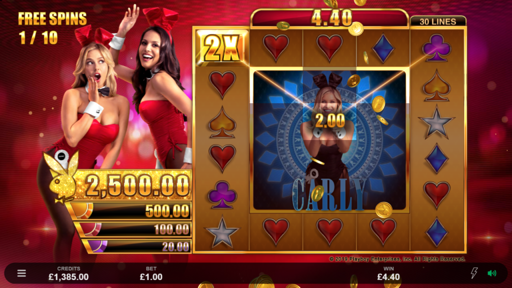 playboy gold jackpots - slot casino game review
