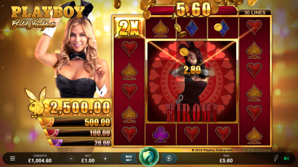 Slot Casino Game - playboy gold jackpots