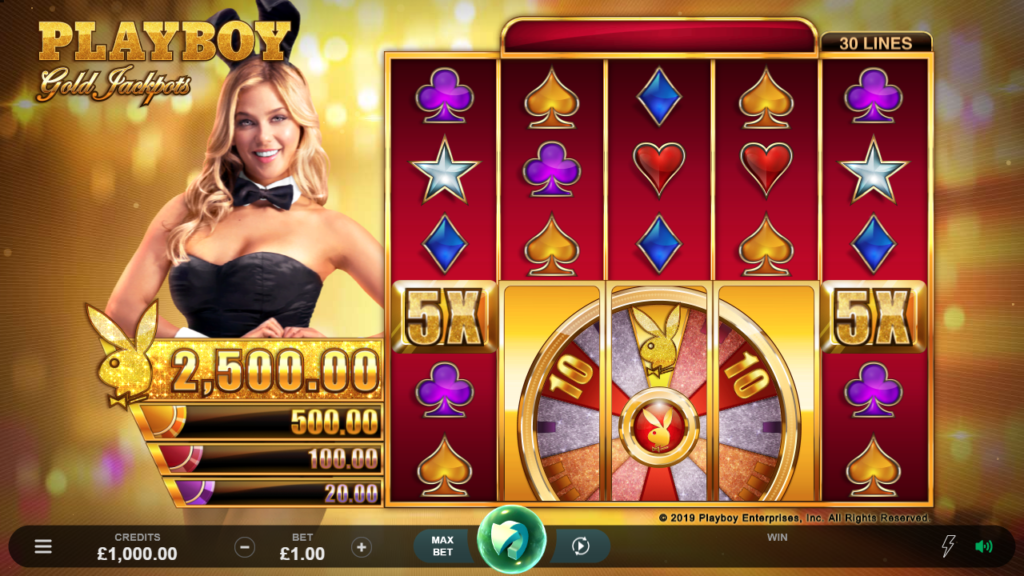 playboy gold jackpots - slot review